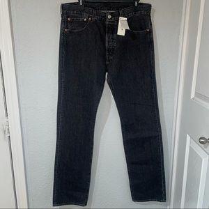 NWT Levi's Men's 501 Original Jean Size 33x34